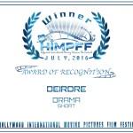 08. Award Of Recognition Drama Short